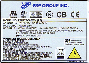 fsp275-50bwn